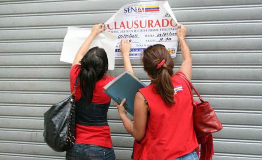 venezuela empresas socialismo seniat