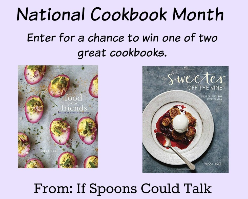 National Cookbook Month Giveaway