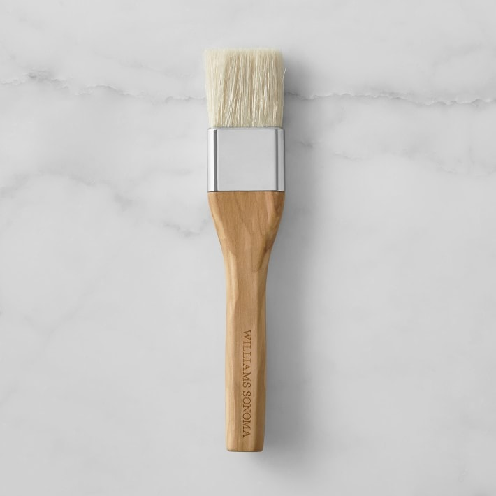 wooden handle pastry brush