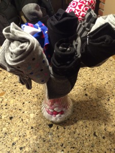 Sock and Boxers bouquet