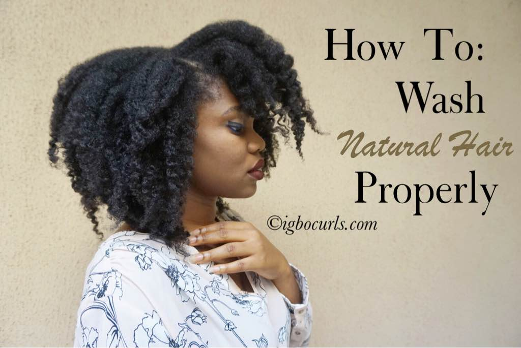 Are you washing your Natural Hair Correctly?
