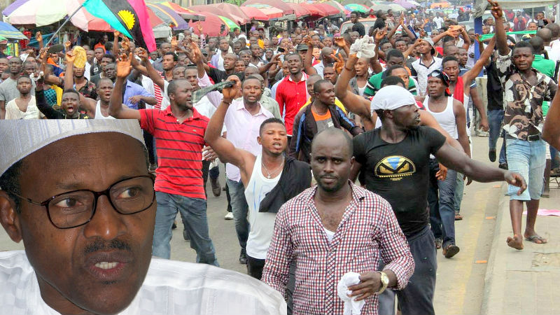 IPOB BLAST BUHARI – ITS TIME TO DISBAND BUHARI'S DSS NOW, ANOTHER IDI AMIN IS RUNNING THIS COUNTRY