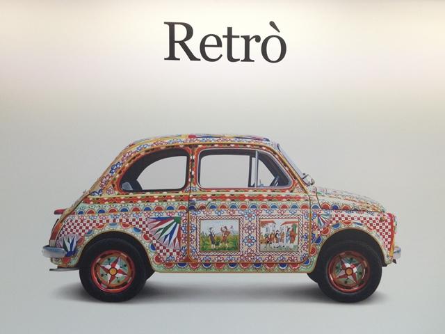 Retro Fiat 500