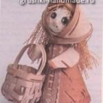 Как сделать куклу из бересты своими руками