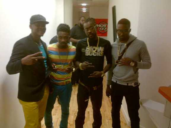 Mr.Vegas, Christopher Martin, Doctor Beenie Man, Konshens