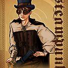 Steampunk Lady by Patrick Scullin