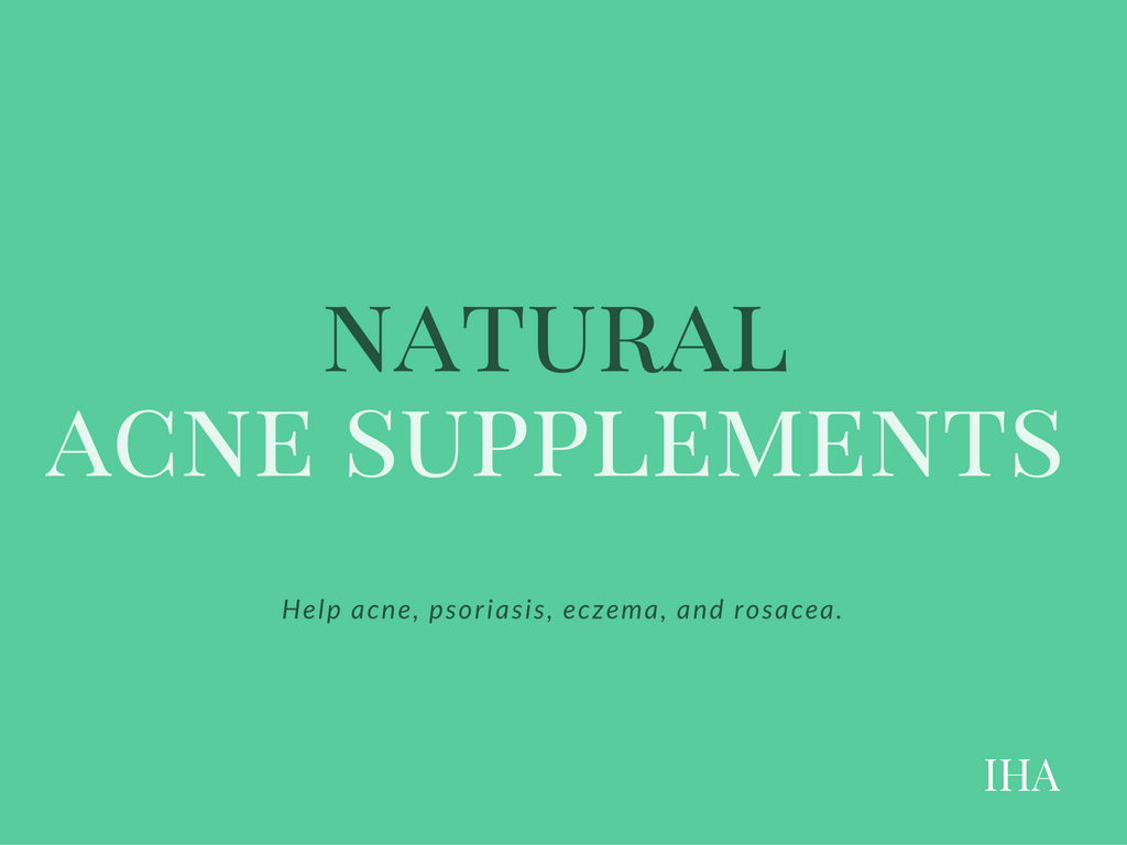natural acne supplements
