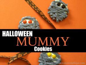 Halloween Mummy Cookies: Kid Fun
