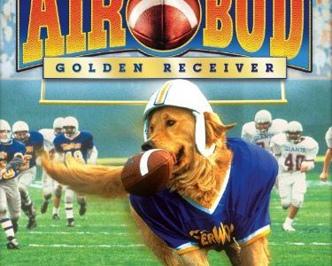 Golden Retriever Superbowl Air Bud Football