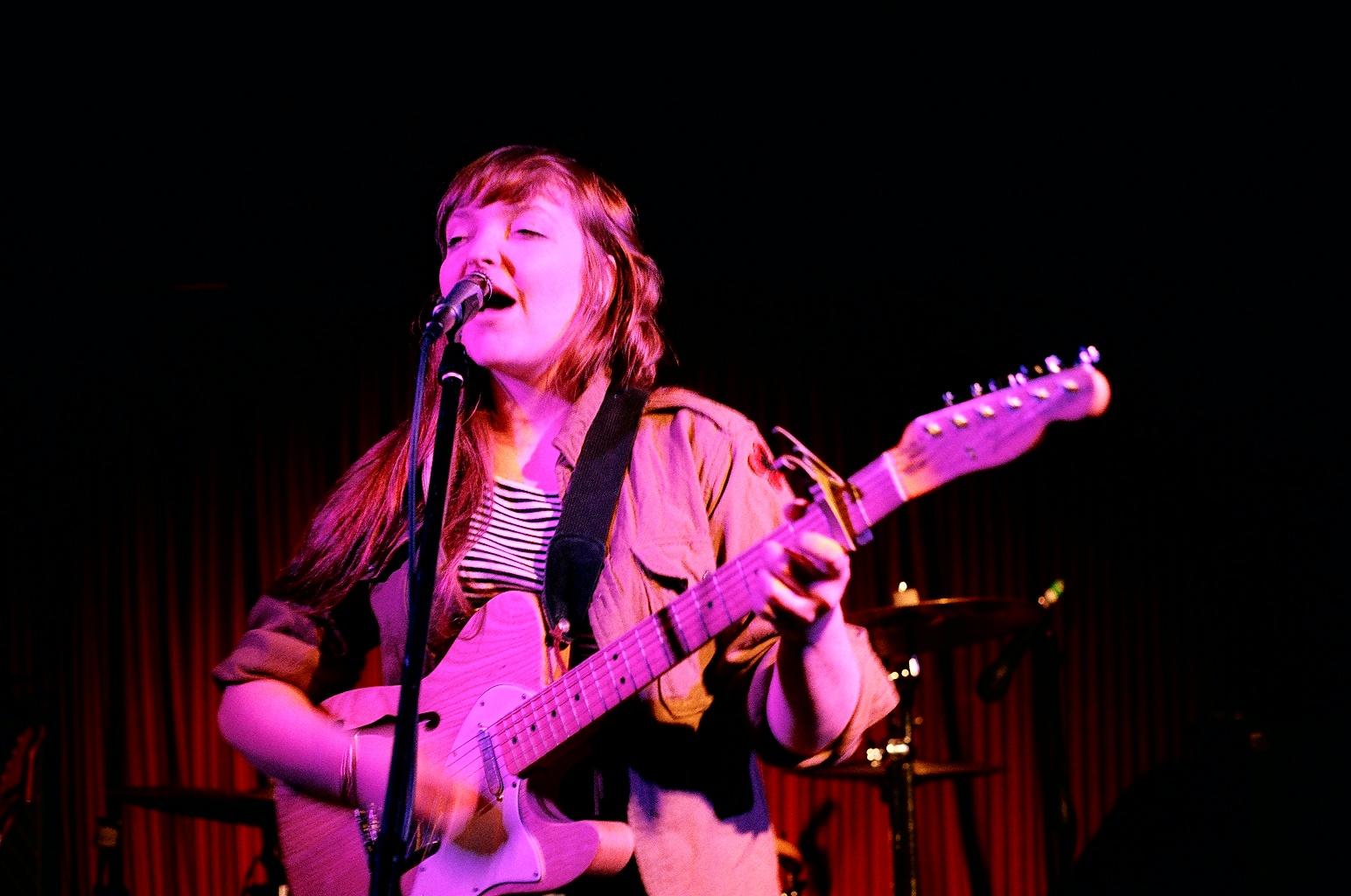 Chrisy Hurn of Basement Revolver. Photo by Steph Dubik.