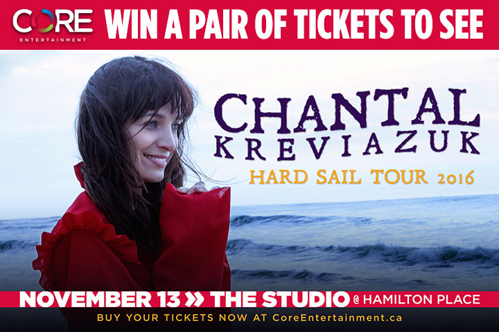 CONTEST: Chantal Kreviazuk