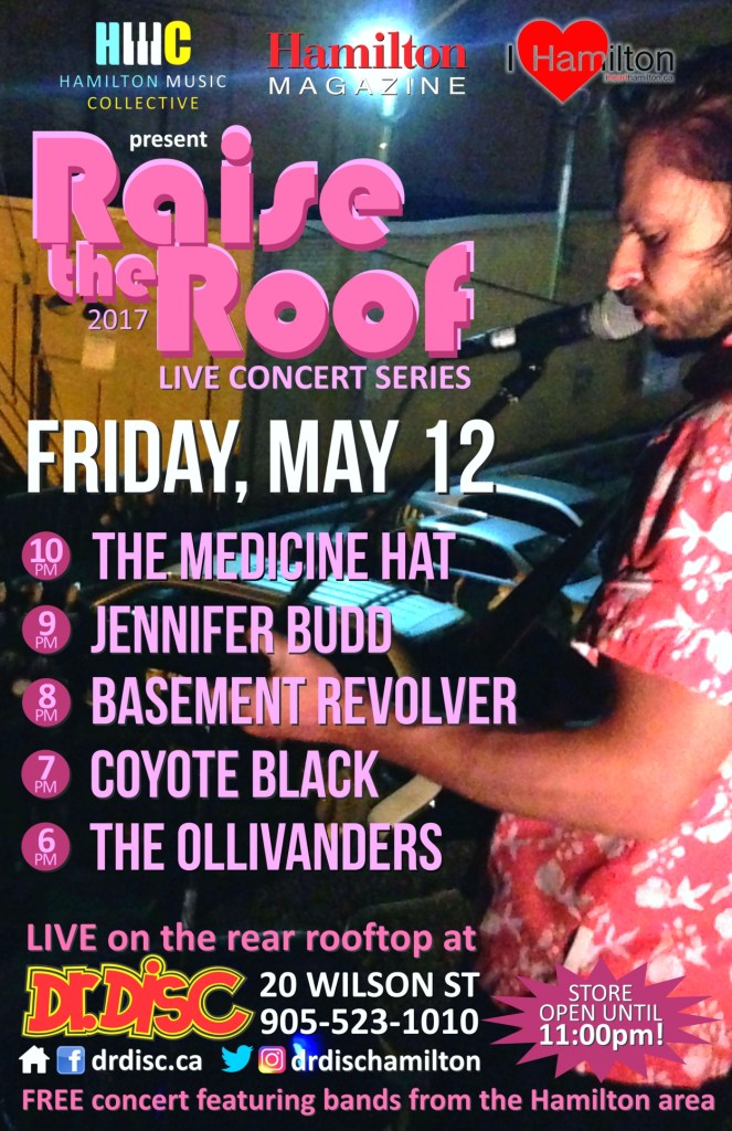 I HEART HAMILTON CO-PRESENTS RAISE THE ROOF @ DR. DISC (MAY 12)