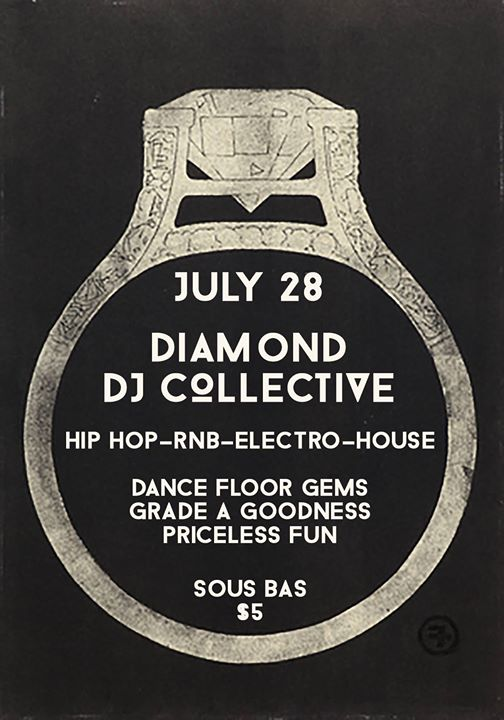 Diamond DJ Collective at Sous Bas