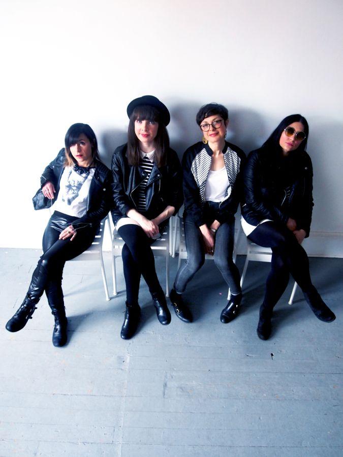 Fazooli, Kristin, Donna Lovejoy, Rosé. Photo by Aaron Duarte