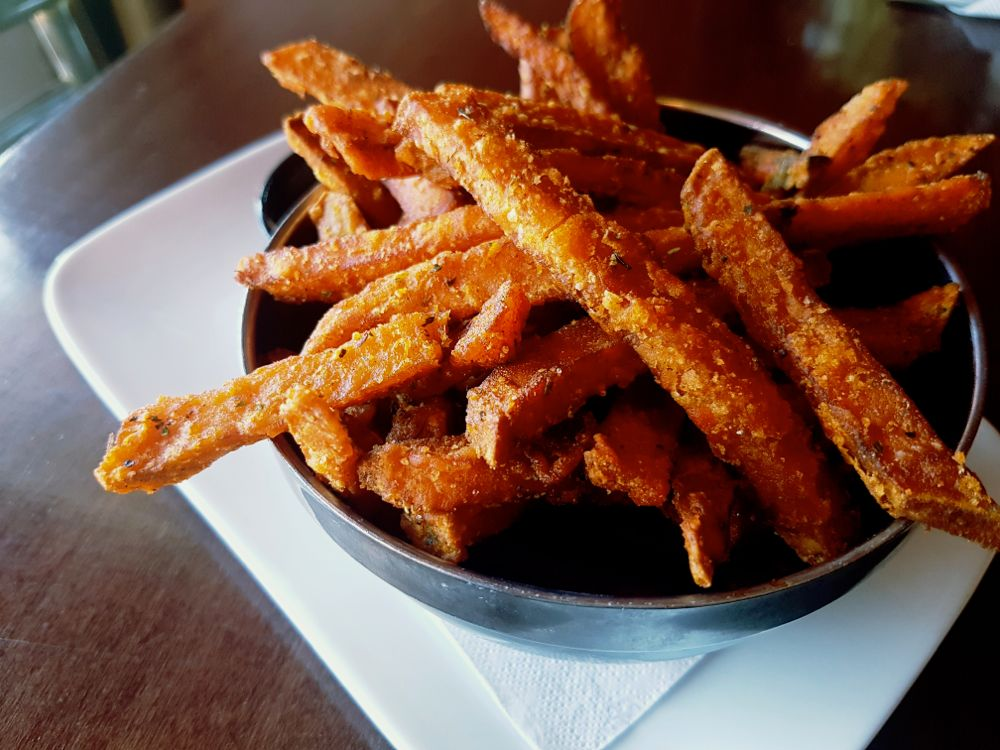 Sweet Potato Fries at Bean Bar