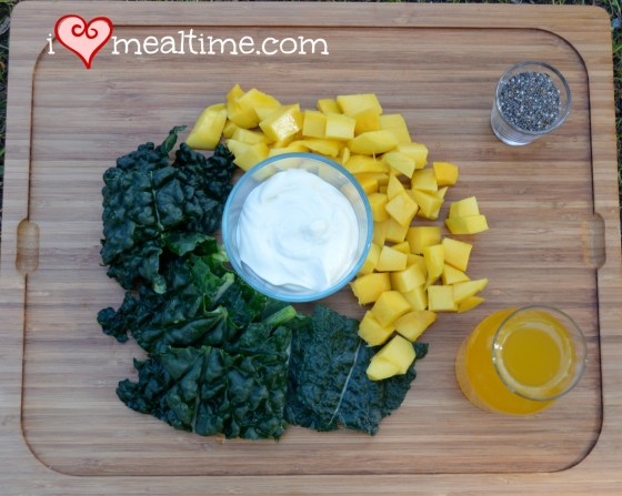 Copycat Jamba Juice Kale-ribben Breeze Ingredients