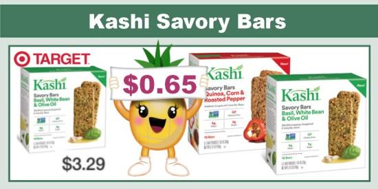 kashi savory bars coupon deal