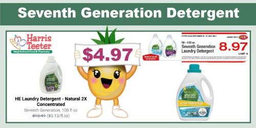 Seventh Generation Detergent Coupon Deal