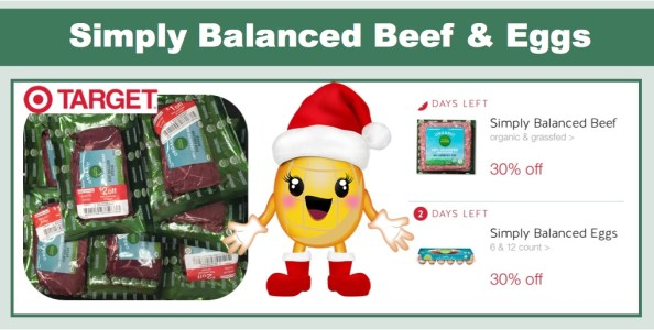 Cartwheels for Simply Organic Beef and Eggs