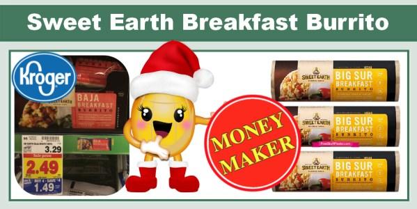 Sweet Earth Breakfast Burrito Coupon Deal