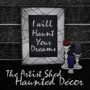Haunted Decor