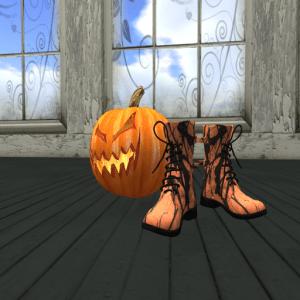 LC Combat Boots Halloween Mens B