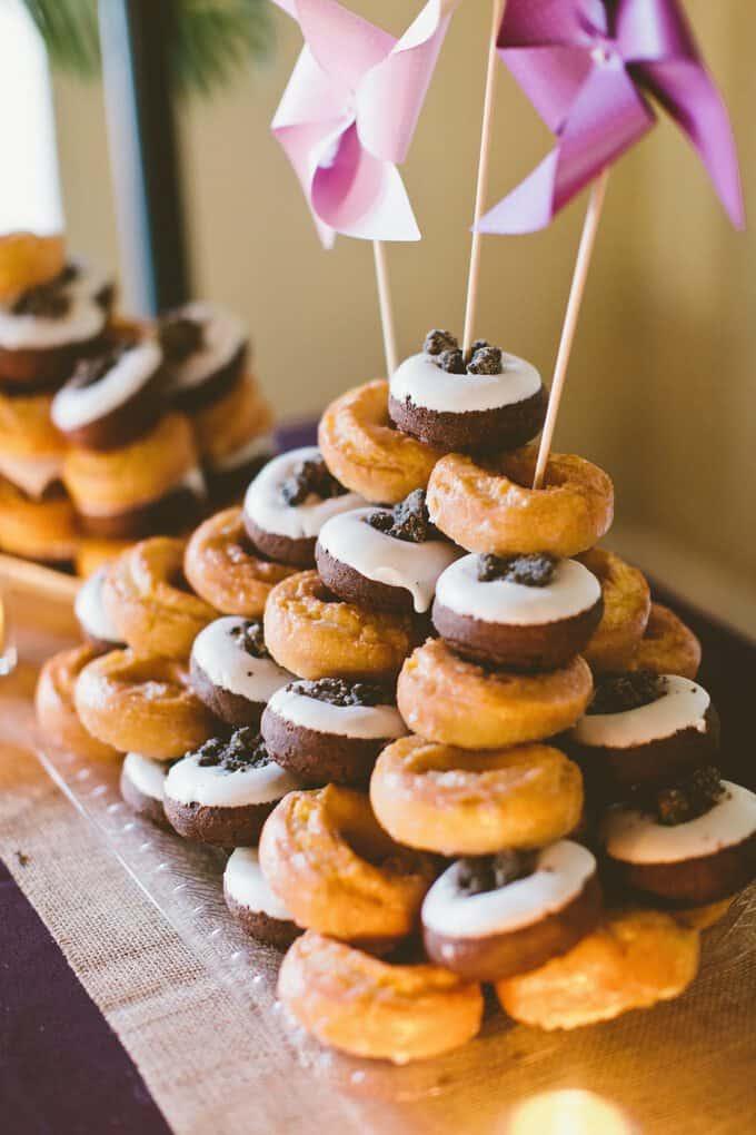 Large Of Donut Wedding Cake