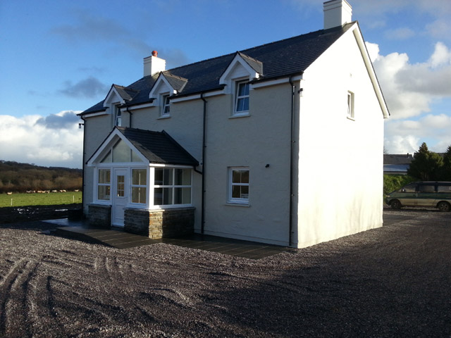 House Build by Ieuan Griffiths Building Contractors