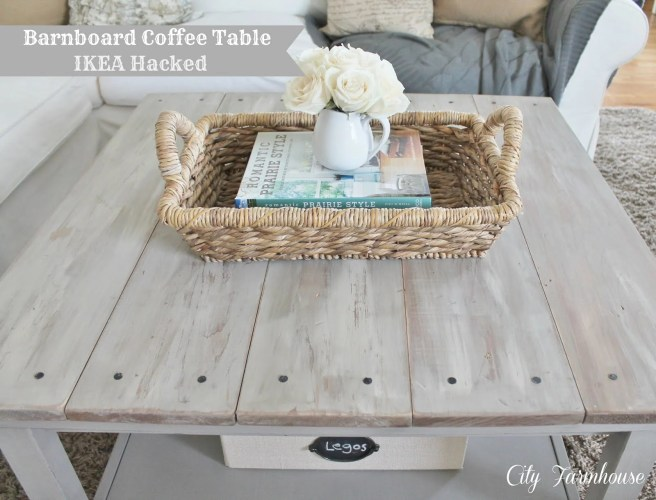 hemnes beautified barnboard coffee table whitewash kitchen table Hemnes Beautified Barnboard Coffee Table