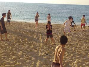 ビーチ 遊び 、4