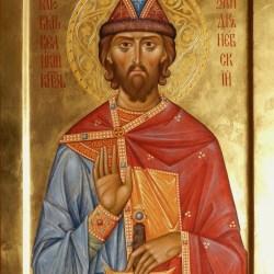 Saint Prince Alexandre de Neva, 29 cm x 40