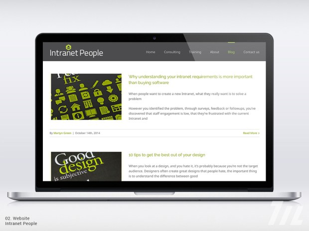 Intranet People blog