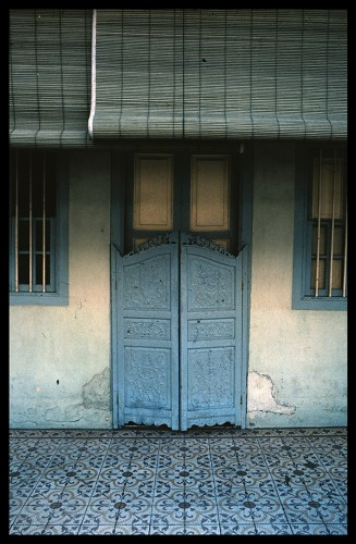 What's more intriguing than a closed door? It's mystery behind two wooden panels. It's everything you want it to be. Just turn the key, push, step in.