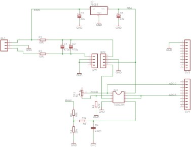Sensor shield schematic diagram