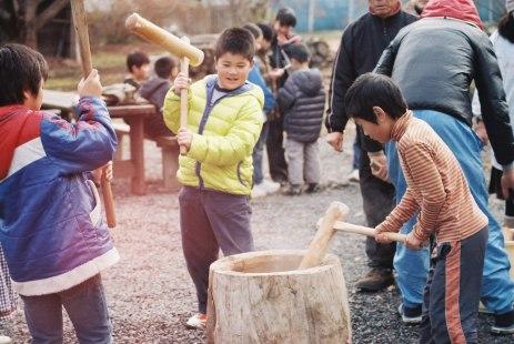 Mochi festival, Ibaraki prefecture