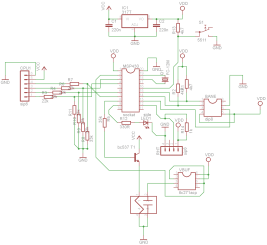 Indoor Sensor Unit circuit schematic diagram