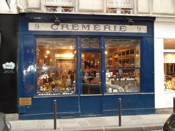 La Cremerie wine bar in Paris, France
