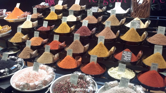 Galeries Lafayette, Paris, food, France, photo, spices