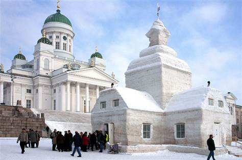 Helsinki's Lutheran Cathedral and Ice Church
