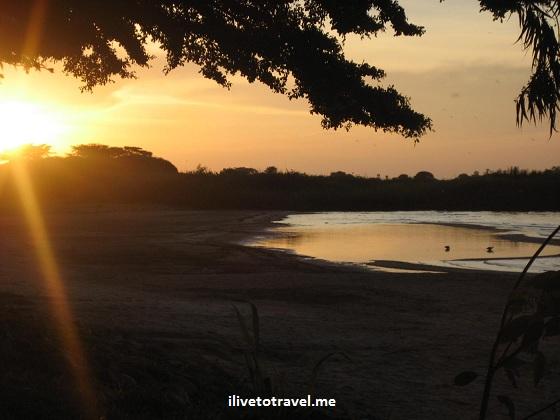Sunset on Lake Victoria in Tanzania