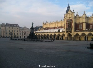 Krakow main square Poland Wawel Castle travel Canon EOS Rebel Photo