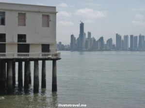 Paitilla in Panama City, Panama from the Casco Viejo (Old Town)