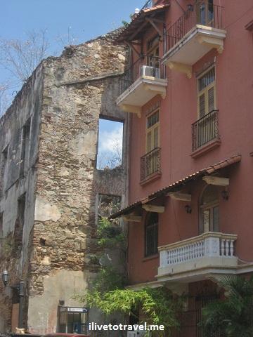Around the Casco Viejo (Old Town) in Panama City, Panama