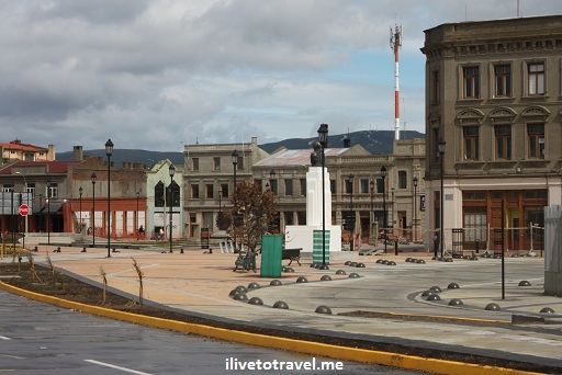 Waterfront in Punta Arenas, Chile