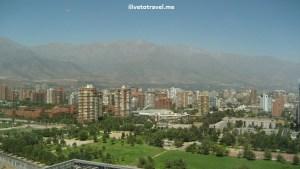 Andes, cordillera, Santiago, Chile, view, Marriott hotel, photo