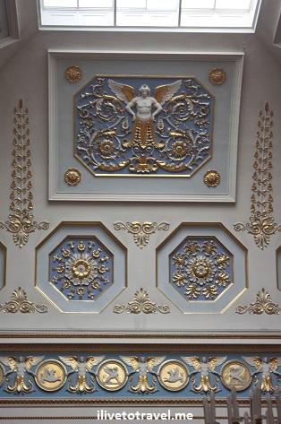 Ceilings of The Hermitage in St. Petersburg, Russia