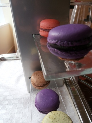 Macarons served to me at the Sofitel Water Tower in Chicago
