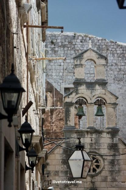 Old church in Old Town Dubrovnik, Croatia