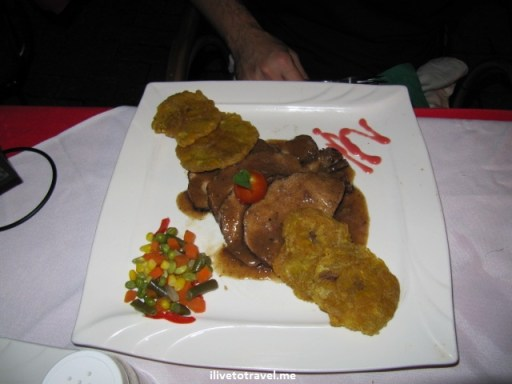 Cuban food at Mr. Congas in Willemstad, Curacao