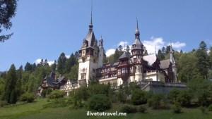 Peles Castle in Transylvania, Romania